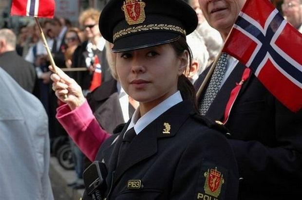 mulheres policiais lindas Noruega