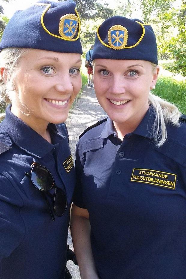 mulheres policiais lindas Suécia