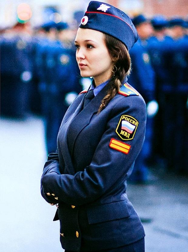 mulheres policiais lindas Rússia